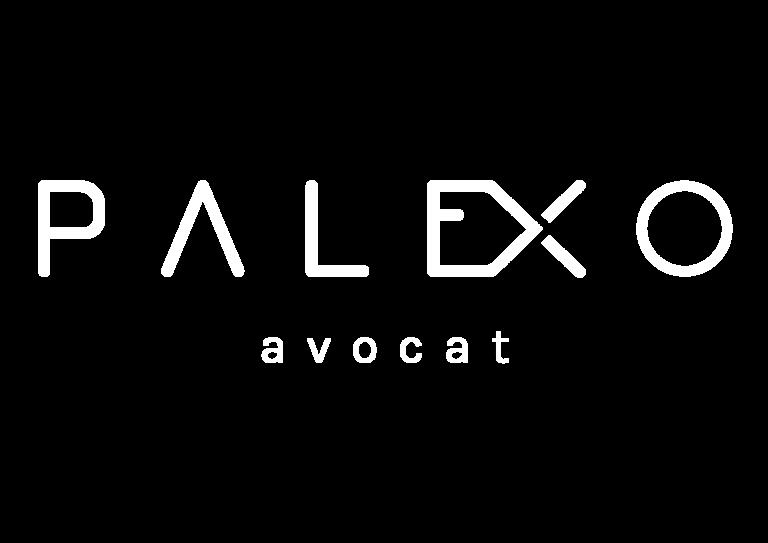 Palexo Avocat Logo Blanc